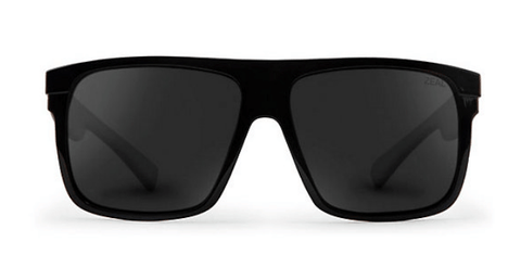 ZEAL ELDORADO BLACK GLOSS FRAME WITH ELLUME DARK GREY POLARIZED LENS SUNGLASSES