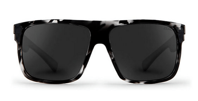 ZEAL ELDORADO BLACK MARBLE FRAME WITH ELLUME DARK GREY POLARIZED LENS SUNGLASSES
