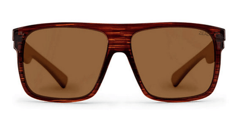 ZEAL ELDORADO HICKORY FRAME WITH ELLUME COPPER POLARIZED LENS SUNGLASSES