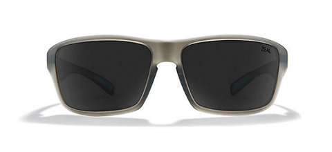ZEAL INCLINE MATTE FATIGUE FRAME WITH ELLUME DARK GREY POLARIZED LENS SUNGLASSES
