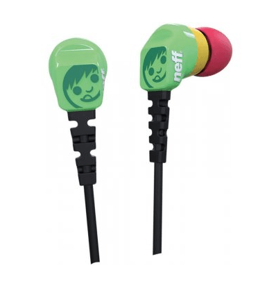 NEFF DAILY EARBUDS HEADPHONES
