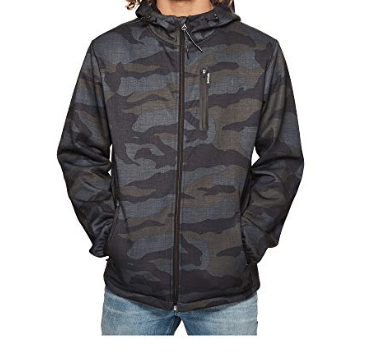 RIP CURL MENS DAYBREAK ANTI SERIES ZIP HOODY