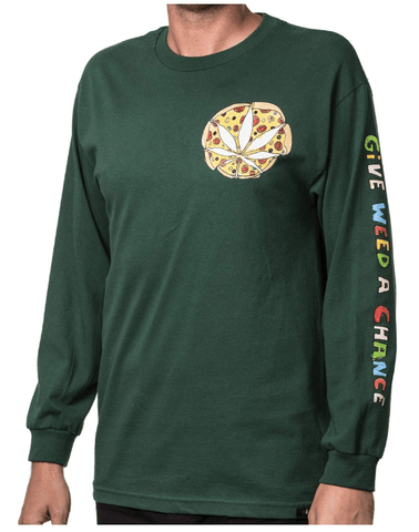 ALTAMONT MENS GIVE IT A CHANCE L/S TEE