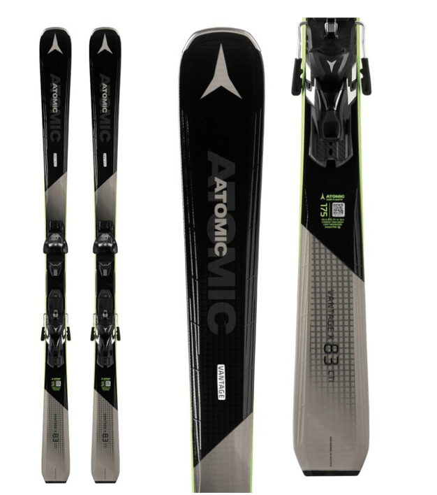 ATOMIC MENS VANTAGE X 83 CTI SKIS WITH WARDEN 13 MNC BINDINGS 2019