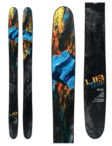 LIB TECH MENS UFO 115 SKIS 2019