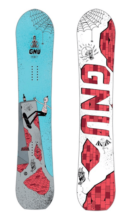 GNU MENS MONEY C2E SNOWBOARD 2019