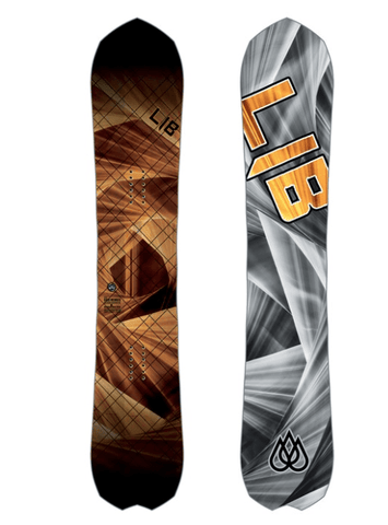 LIB TECH MENS T-RICE GOLD MEMBER FP C2X SNOWBOARD 2019
