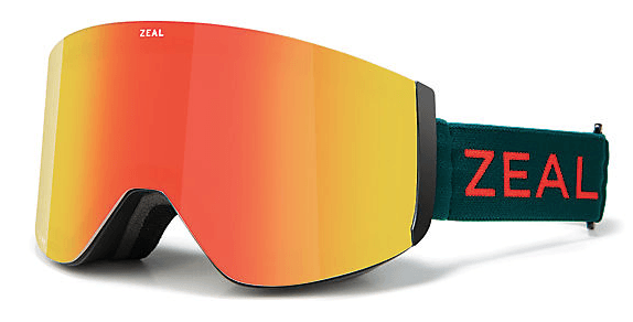 ZEAL HATCHET EMBER FOREST FRAME WITH PHOENIX MIRROR + SKY BLUE MIRROR LENS SNOW GOGGLES 2019