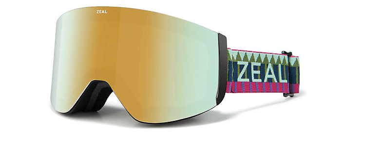 ZEAL HATCHET ROYAL PEACOCK FRAME WITH ALCHEMY MIRROR + SKY BLUE LENS SNOW GOOGLES 2019