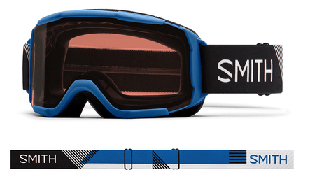 SMITH DAREDEVIL JR BLUE STRIKE FRAME WITHRC36 LENS SNOW GOGGLES 2019