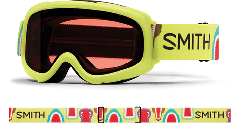 SMITH GAMBLER JR ACID ANIMAL MOUTH FRAME WITH RC36 LENS SNOW GOGGLES 2019
