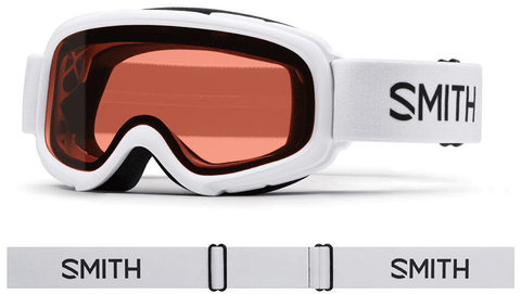 SMITH GAMBLER JR WHITE FRAME WITH RC36 LENS SNOW GOGGLES 2019