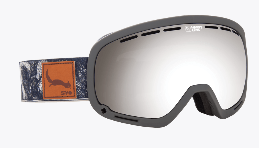 SPY MARSHALL DANNY LARSEN FRAME WITH HAPPY GREY GREEN/SILVER SPECTRA+HAPPY PERSIMMON/LUCID SILVER LENS SNOW GOGGLES 2019