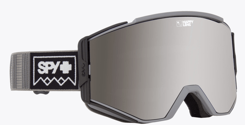 SPY ACE DEEP WINTER GREY FRAME WITH HAPPY GREY GREEN/SILVER SPECTRA+HAPPY YELLOW/LUCID GREEN LENS SNOW GOGGLES 2019