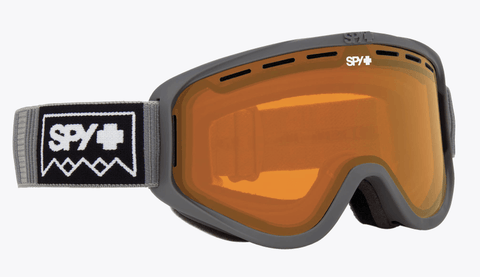 SPY WOOT DEEP WINTER GREY FRAME WITH PERSIMMON LENS SNOW GOGGLES 2019
