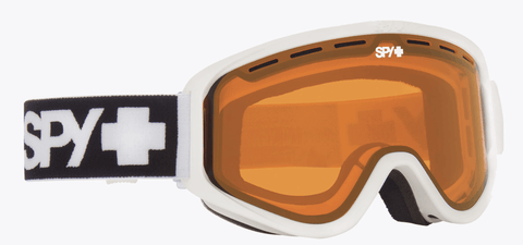 SPY WOOT MATTE WHITE FRAME WITH PERSIMMON LENS SNOW GOGGLES 2019