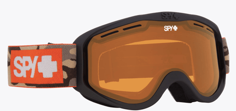SPY CADET CAMO FRAME WITH PERSIMMON LENS SNOW GOGGLES 2019