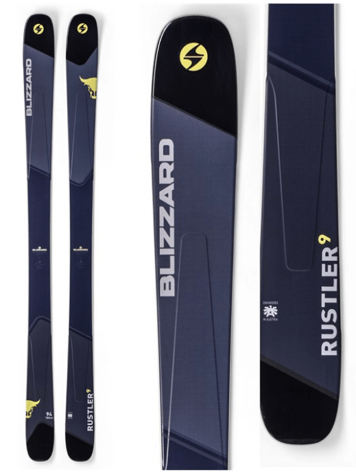 BLIZZARD MENS RUSTLER 9 SKIS 2019