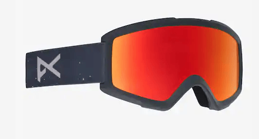 c6031d6e47dd ANON HELIX 2.0 RUSH FRAME WITH RED SOLEX+AMBER LENS SNOW GOGGLES 2019