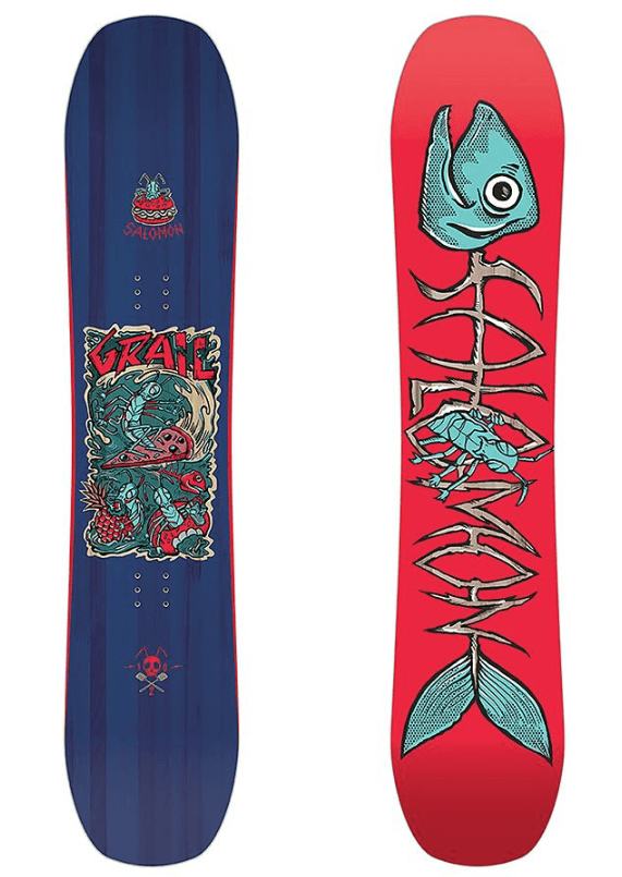 SALOMON YOUTH GRAIL SNOWBOARD 2019