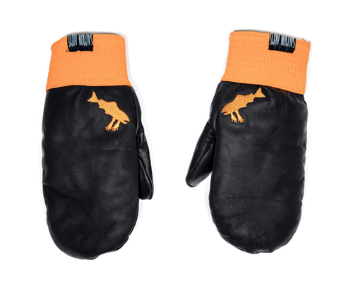 SALMON ARMS RABER LEATHER MITT 2019