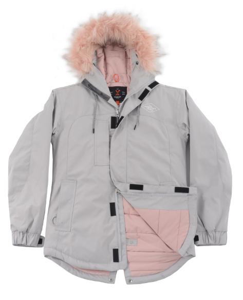 THE POSITIVE GROUP WMNS UP NORTH SNOW JACKET 2019
