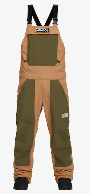 ANALOG MENS ICE OUT BIB SNOW PANTS 2019