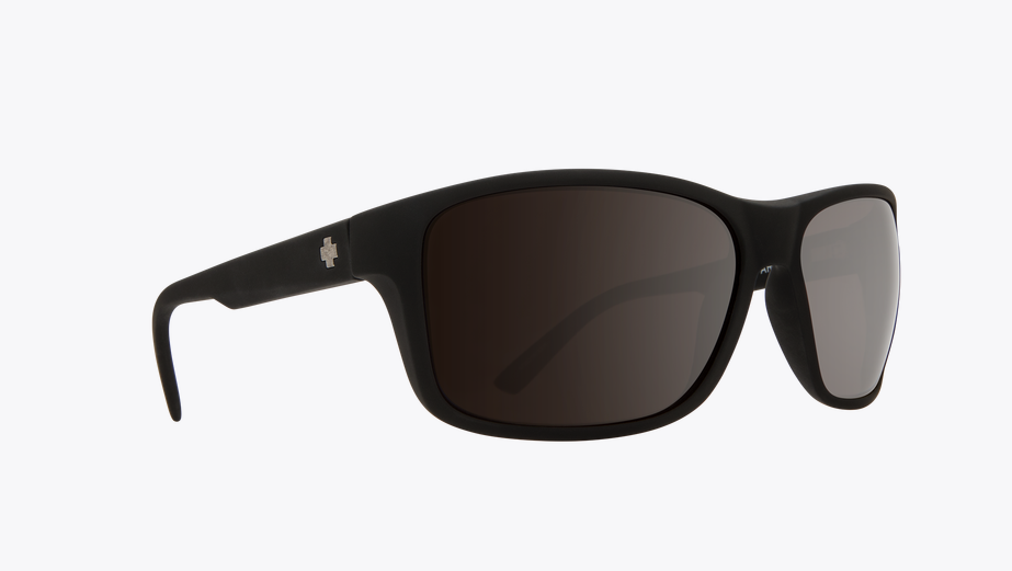 SPY ARCYLON SOFT MATTE BLACK FRAME WITH HAPPY BRONZE/BLACK MIRROR LENS SUNGLASSES