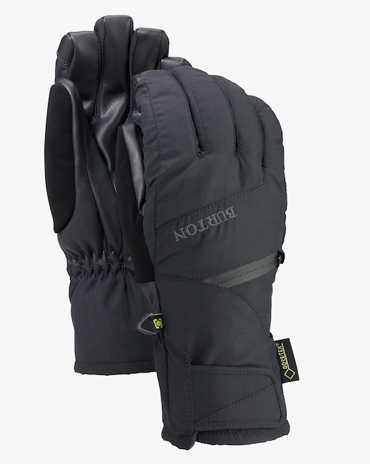BURTON WOMENS GORETEX UNDERGLOVE TRUE BLACK 2020