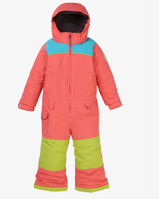 BURTON G TODDLER ILLUSION ONE PIECE GEORGIA PEACH 2020