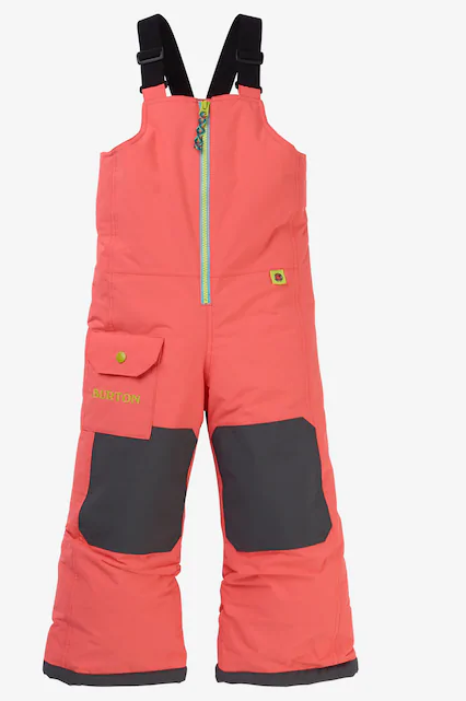 BURTON MS MAVEN BIB GEORGIA PEACH 2020