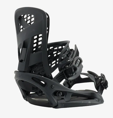 BURTON MENS GENESIS EST SNOWBOARD BINDINGS MATTY BLACK-2020