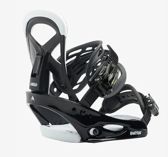BURTON SMALLS SNOWBOARD BINDINGS BLACK-2020