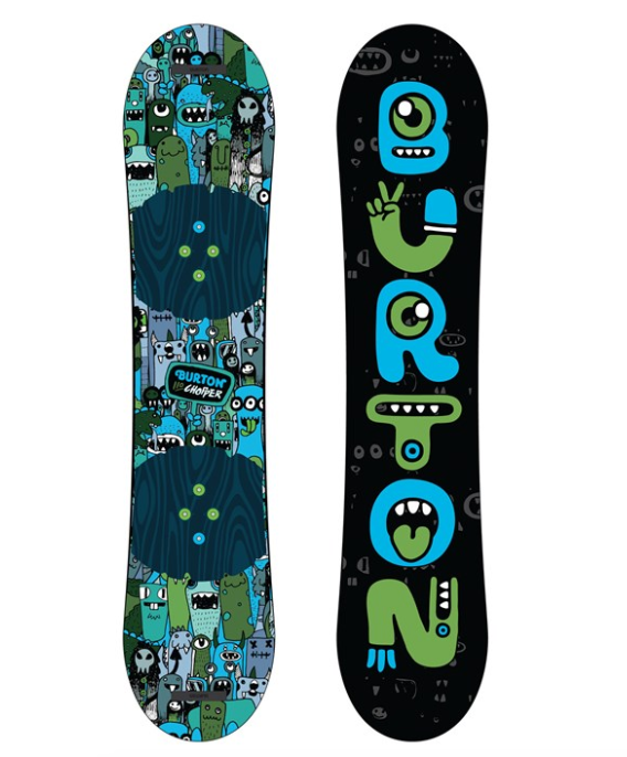 BURTON YOUTH CHOPPER SNOWBOARD-2020