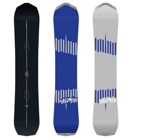 SALOMON MENS ULTIMATE RIDE SNOWBOARD-2020