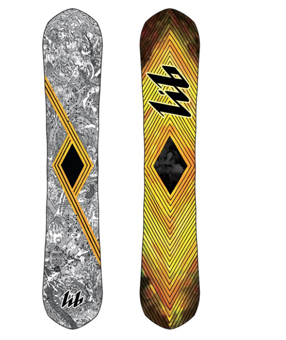 LIB TECH MNS TRAVIS RICE PRO HP POINTY SNOWBOARD 2020