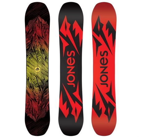 JONES MENS MOUNTAIN TWIN SNOWBOARD 2020