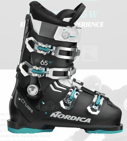 NORDICA WMNS THE CRUISE 65 SKI BOOTS 2020