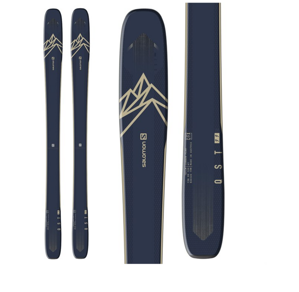 SALOMON MENS QST 99 SKIS 2020