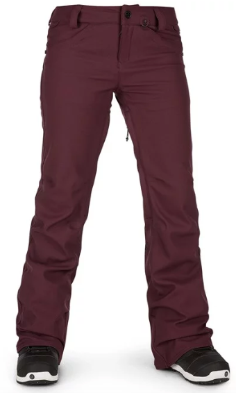 VOLCOM WMNS SPECIES STRETCH SNOW PANT 2020 AVAILABLE IN BLACK, COPPER, MERLOT AND SAND
