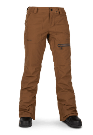 VOLCOM WMNS KNOX INSULATED GORE-TEX SNOW PANT 2020 AVAILABLE IN BLACK AND COPPER