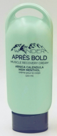 Wander Apres Bold Muscle Recovery Cream 120ML