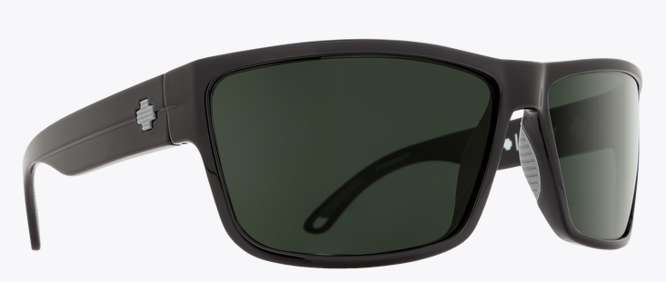 SPY ROCKY MT BLK FRAME WITH HD PLUS GRAY GREEN SUNGLASSES