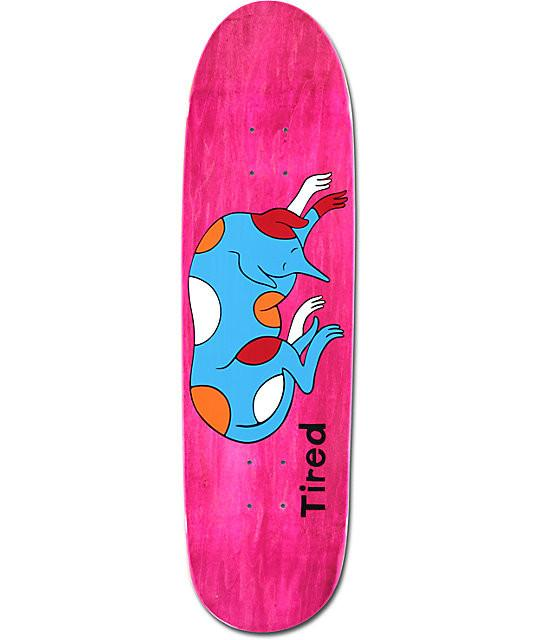 TIRED SLEEPING DOG DEAL SKATEBOARD DECK 8.5