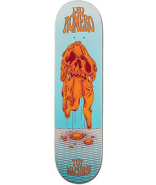 TOY MACHINE FACE MELT ROMERO DECK