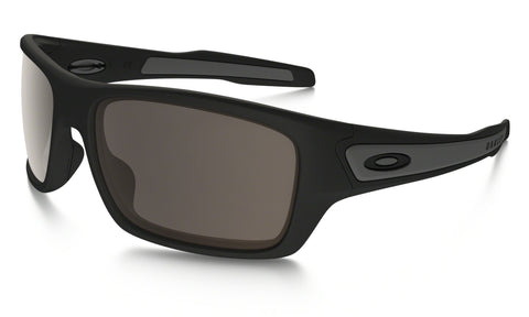 OAKLEY TURBINE MATTE BLACK FRAME WITH WARM GREY LENS SUNGLASSES