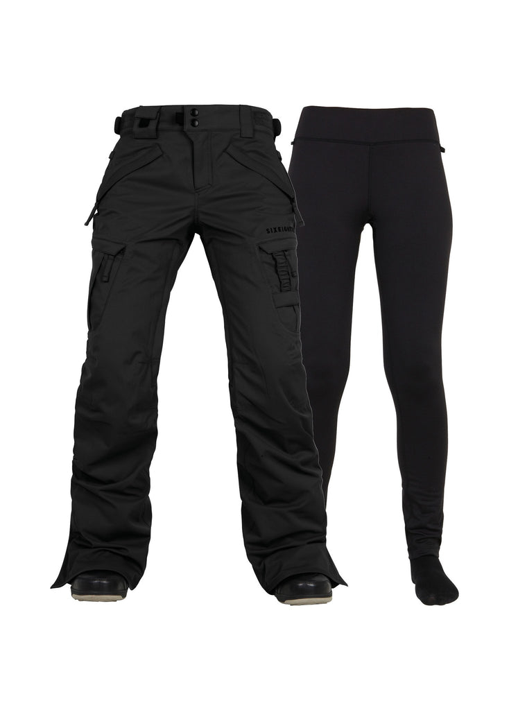 686 WMNS AUTHENTIC SMARTY CARGO SNOW PANT 2017