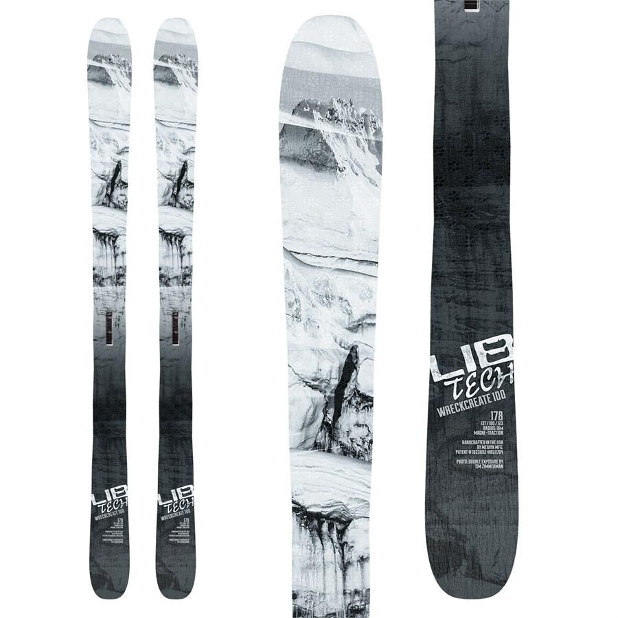 LIB TECH MENS WRECKREATE 100 SKIS 2018