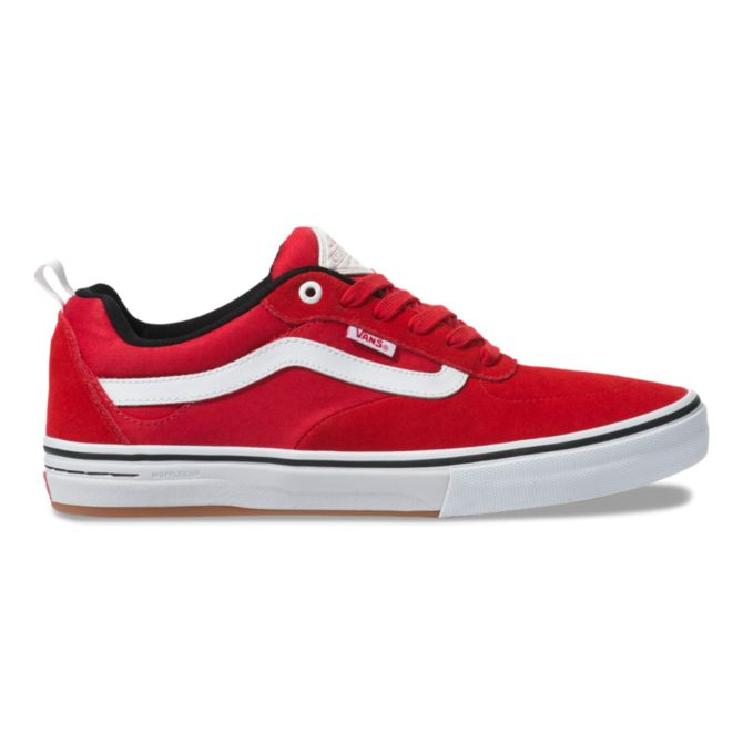 VANS KYLE WALKER PRO SHOE RED/WHITE