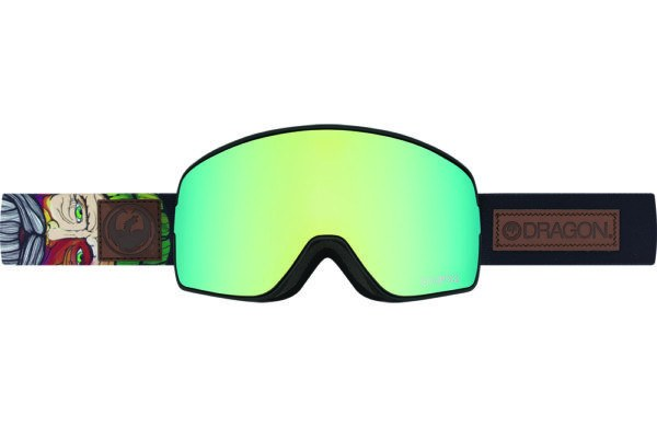 DRAGON NFX2 CHRIS BENCHETLER SIG-SMK GOLD ION+YLW RED ION LENSES SNOW GOGGLES 2017